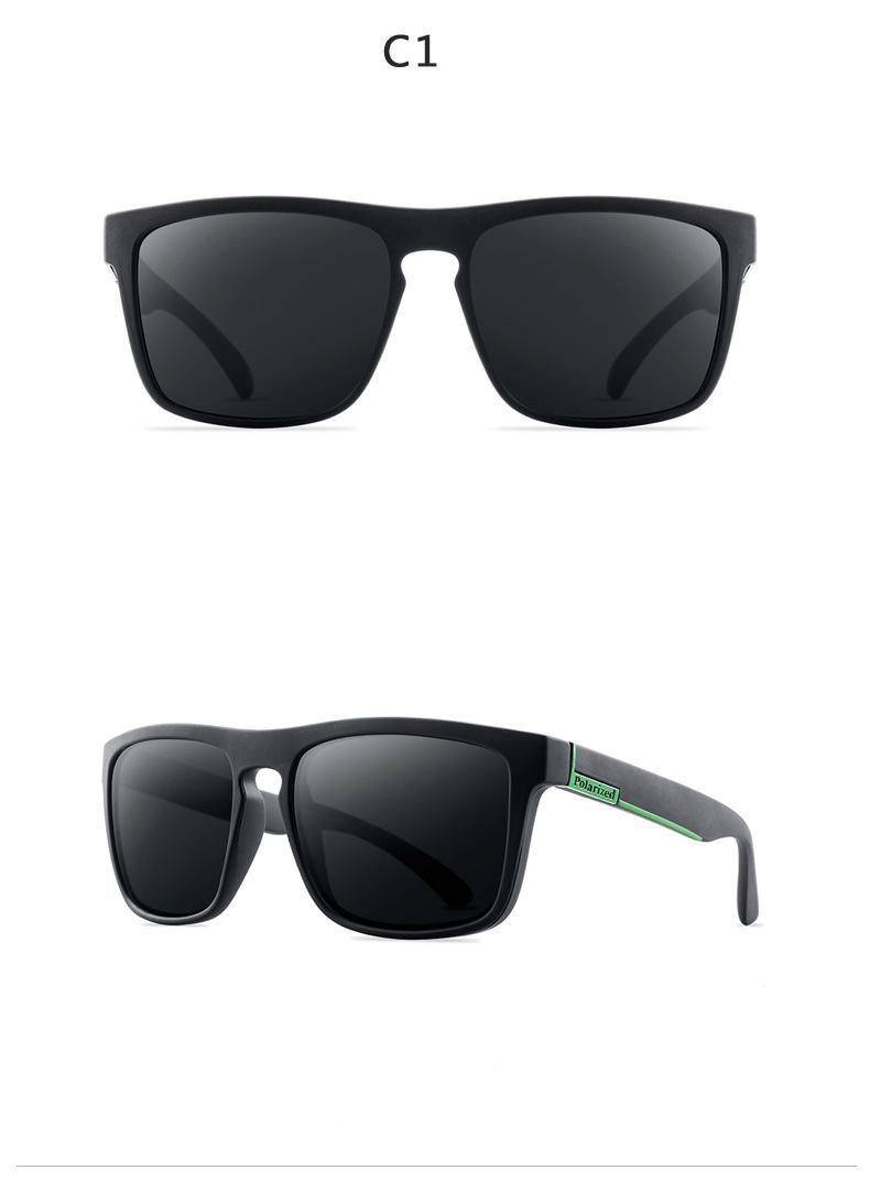 DJXFZLO 2021 New Fashion Guy's Sun Glasses Polarized Sunglasses Men Classic Design Mirror Fashion Square Ladies Sunglasses Men