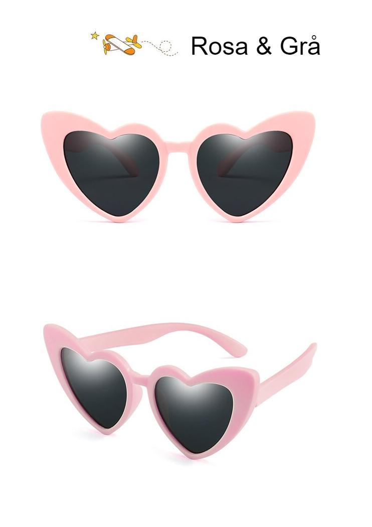 WarBLade New Children Sunglasses Kids Polarized Sun Glasses LOVE Heart Boys Girls Glasses Baby Flexible Safety Frame Eyewear