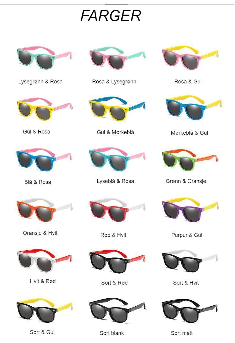 WarBlade Fashion Polarized Kids Sunglasses Silicone Flexible Boys Girls Children Sun Glasses Baby Shades Eyewear UV400 Oculos