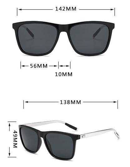 ZXWLYXGX Brand Unisex Retro Aluminum+TR90 Women Sunglasses Men Polarized Lens Vintage Eyewear Accessories Sun Glasses Oculos